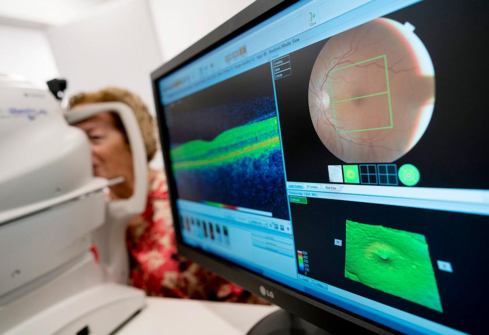 pruebas diagnosticas oftalmologia Vic