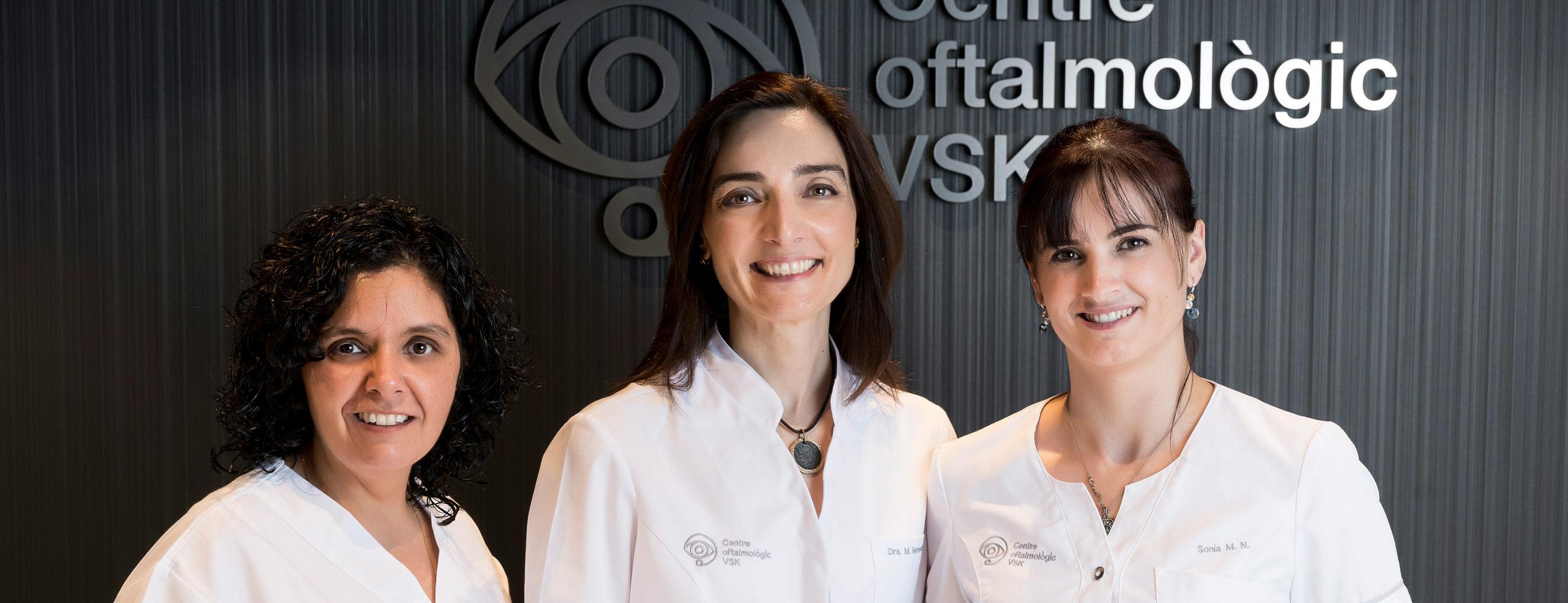 doctoras oftalmologia Vic